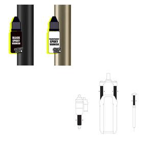 Sendhit Scratch Cover Kit de réparation, black